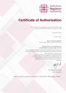SRA authorisation_Page_1
