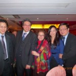 Maxwell Alves partners: Daniel Cheung & Dr Alan Ma and fellow guests at the Chinese Conservative Party Dinner – 26/02/2013